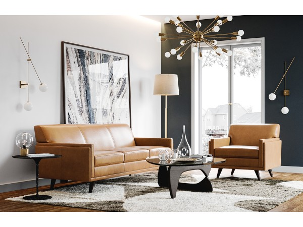 361 - Milo Tan Sofa Set