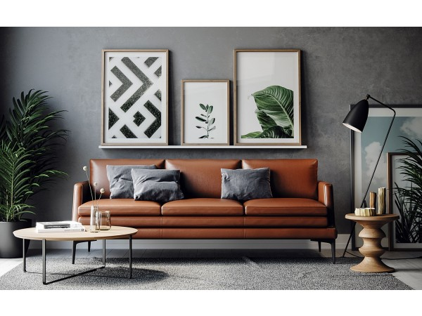 439 - Rica Tan Sofa Set
