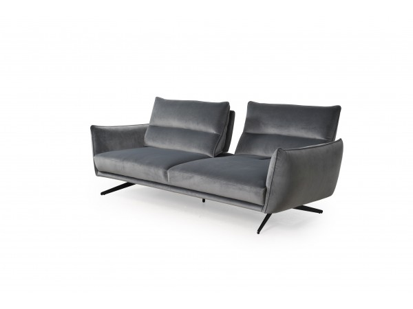 296 - Royce Swan Gray Sofa