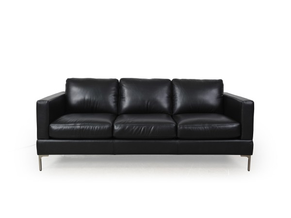 351 - Tobia Black Sofa