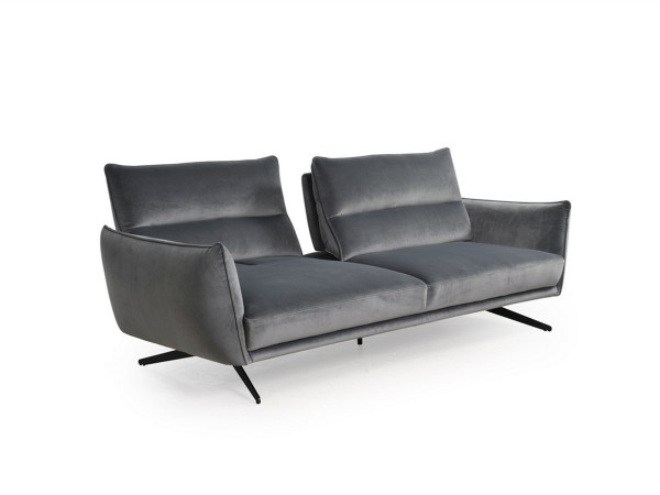 296 - Royce Gray Sofa