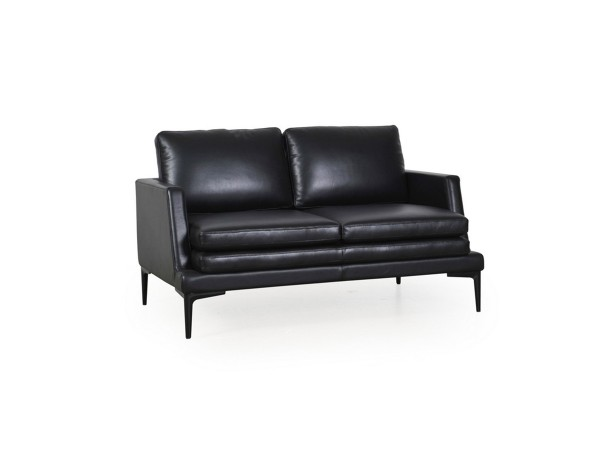 439 - Rica Black Loveseat