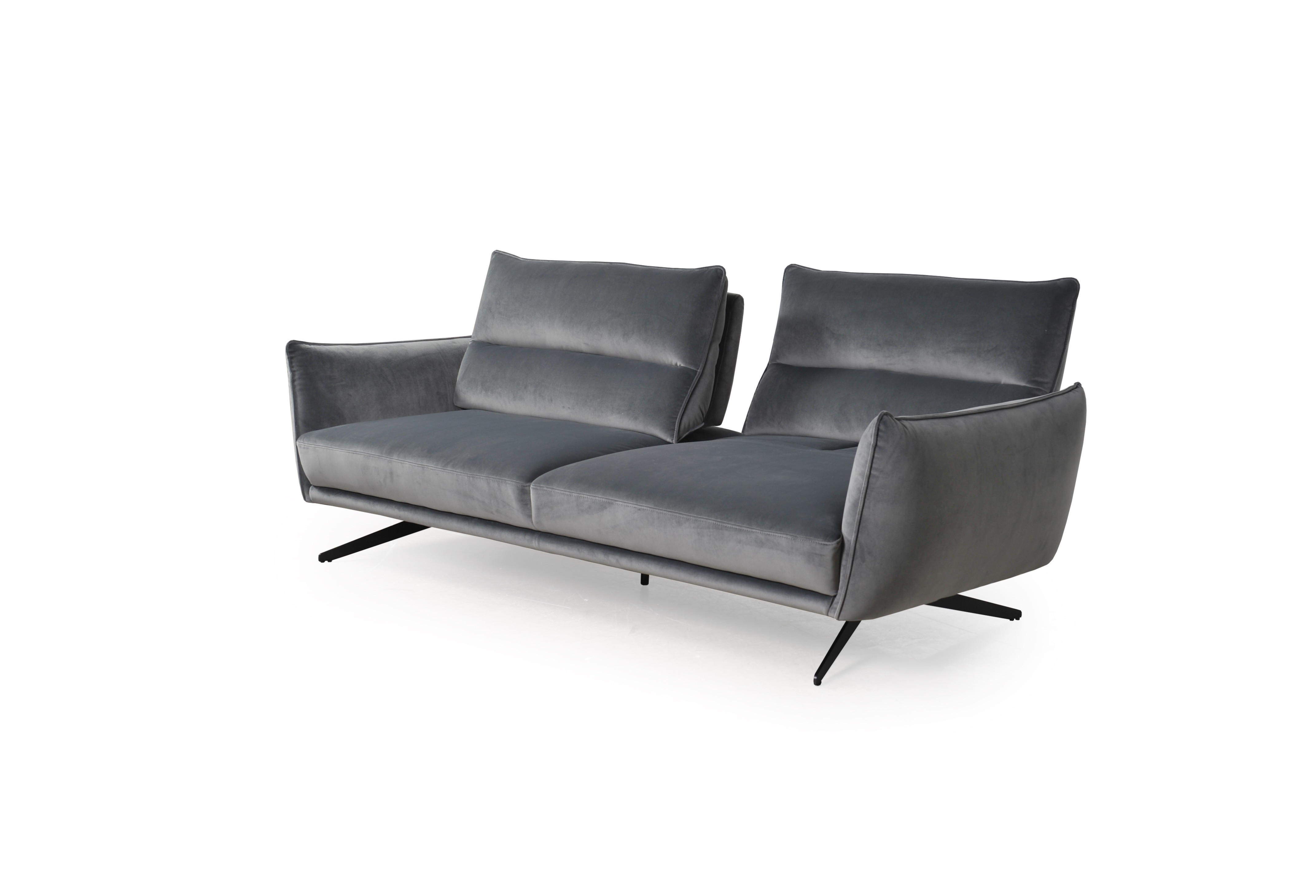 296 - Royce Swan Gray Sofa